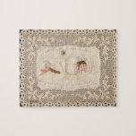 Conferencia de cortina de señora Caudle, tarjeta d Puzzles