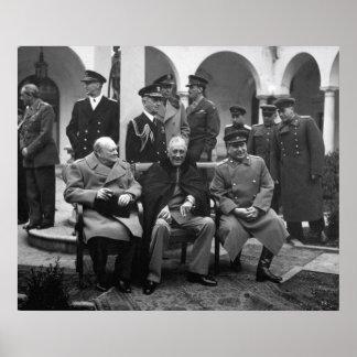 Conferencia de Yalta Poster