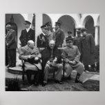 Conferencia de Yalta Póster