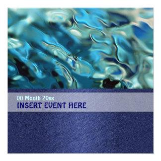 Conferencia elegante de la energía del ambiente de invitacion personalizada