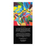 Conferencia interconfesional y esplendor - tarjeta lona publicitaria