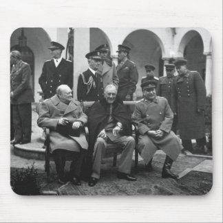Conferencia Roosevelt Stalin Churchill 1945 de Yal Tapetes De Ratón