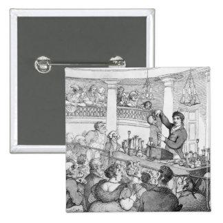 Conferencias químicas, c.1809 pin cuadrado