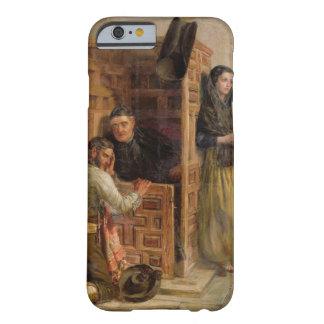 Confesión, 1862 (aceite en lona) funda barely there iPhone 6
