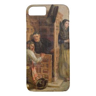Confesión, 1862 (aceite en lona) funda iPhone 7