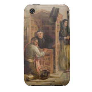 Confesión, 1862 (aceite en lona) funda para iPhone 3