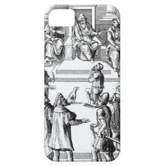 Confesión para las compensaciones ante el funda para iPhone SE/5/5s