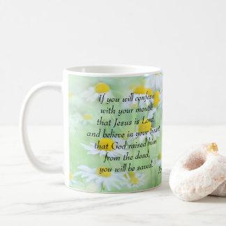 Confess that Jesus is Lord - Romans 10:9 Coffee Mug