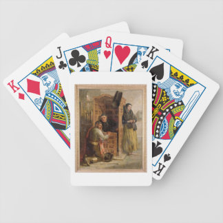 Confession, 1862 (oil on canvas) bicycle playing cards