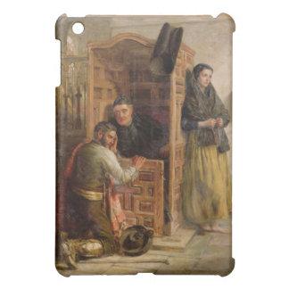 Confession, 1862 (oil on canvas) case for the iPad mini
