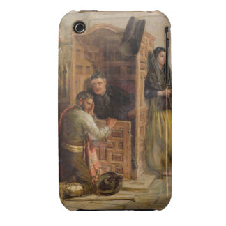 Confession, 1862 (oil on canvas) iPhone 3 Case-Mate case