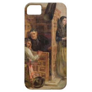Confession, 1862 (oil on canvas) iPhone SE/5/5s case