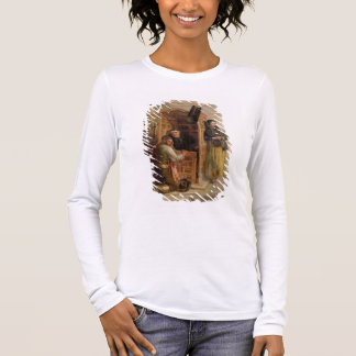 Confession, 1862 (oil on canvas) long sleeve T-Shirt