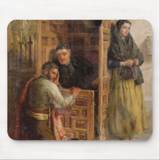 Confession, 1862 (oil on canvas) mouse pad