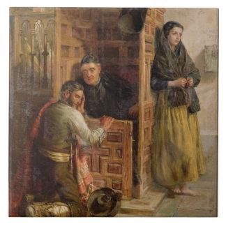 Confession, 1862 (oil on canvas) tile