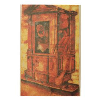 Confession 1994 wood wall art