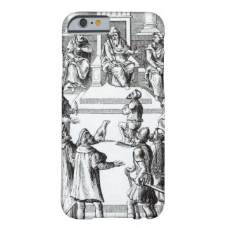 Confession for amends before the tribunal, after a barely there iPhone 6 case