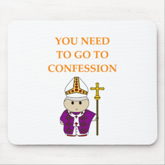 CONFESSION MOUSE PAD