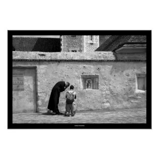 Confession - Whit Monday at Chartres Cathedral 2 Print