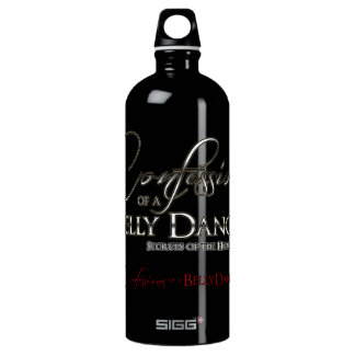 Confessions of a Belly Dancer - Aluminum Water Bottle