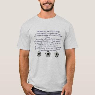 Confessions of a Socceraholic T-Shirt