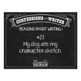Confessions of a Writer: Reason #23 Poster