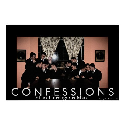 Confessions of an Unreligious Man Poster