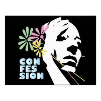 Confessions Postcard