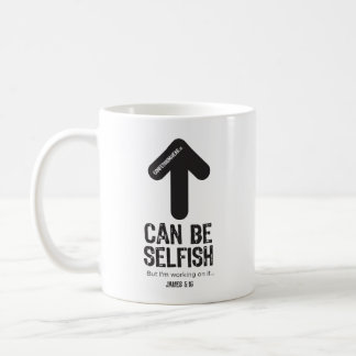 CONFESSIONWEAR: CAN BE SELFISH MUG