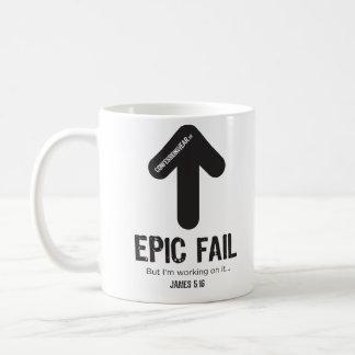 CONFESSIONWEAR: EPIC FAIL COFFEE MUG