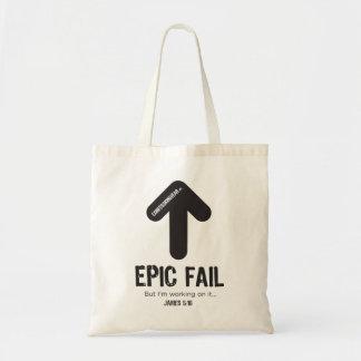 CONFESSIONWEAR: EPIC FAIL TOTE