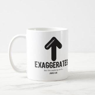 CONFESSIONWEAR: EXAGGERATES MUG