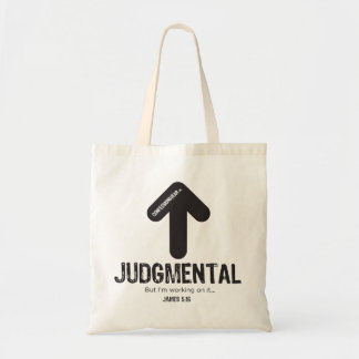 CONFESSIONWEAR: JUDGMENTAL TOTE