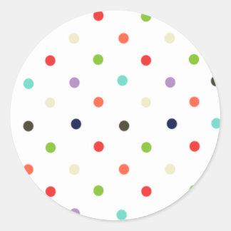 Confeti colorido del fiesta del lunar etiquetas
