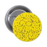 Confeti colorido en amarillo pins