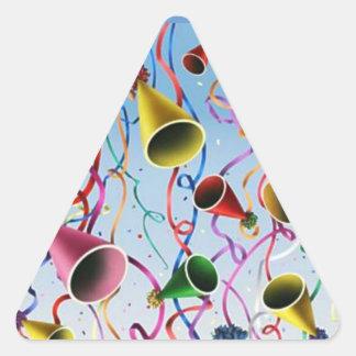 Confeti de las flámulas de los gorras del fiesta colcomanias trianguladas personalizadas