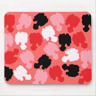 Confeti del camafeo tapete de ratones