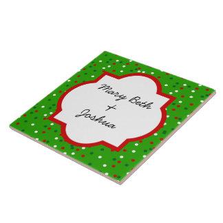 Confeti del navidad • Colores tradicionales del ca Teja