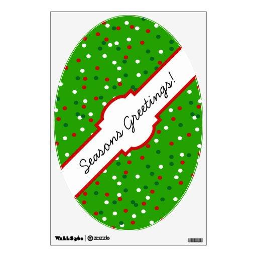 Confeti del navidad • El árbol de navidad asperja