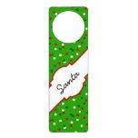Confeti del navidad • El árbol de navidad asperja Colgador Para Puerta