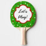 Confeti del navidad • El árbol de navidad asperja Pala De Ping Pong