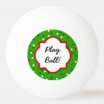 Confeti del navidad • El árbol de navidad asperja Pelota De Ping Pong