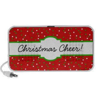 Confeti del navidad • El canela candente asperja iPhone Altavoces