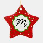 Confeti del navidad •  El canela candente asperja Ornaments Para Arbol De Navidad