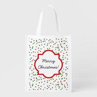 Confeti del navidad •   La formación de hielo real Bolsas Para La Compra