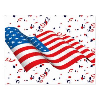 Confeti del patriota postal