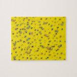 Confeti en amarillo rompecabeza