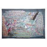 Confeti Placemats CricketDiane de Squiqqles Manteles Individuales