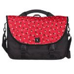 Confeti rojo bolsas de portatil