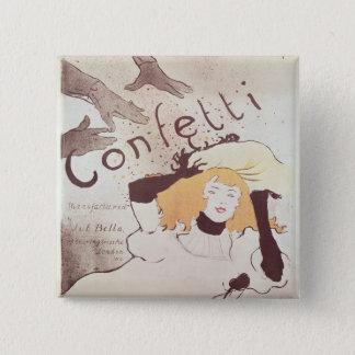 Confetti, 1893 button